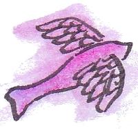 Purple Flying Fish