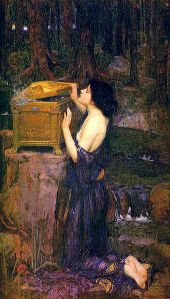 Pandora's Box by JW Waterhouse