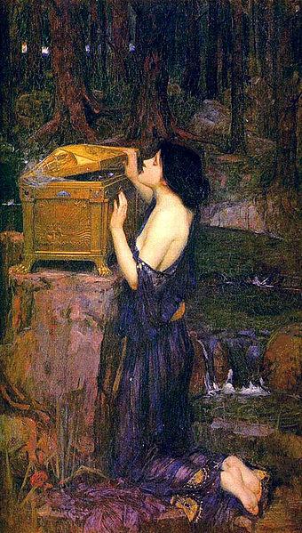 Pandora's Box by JW Waterhouse