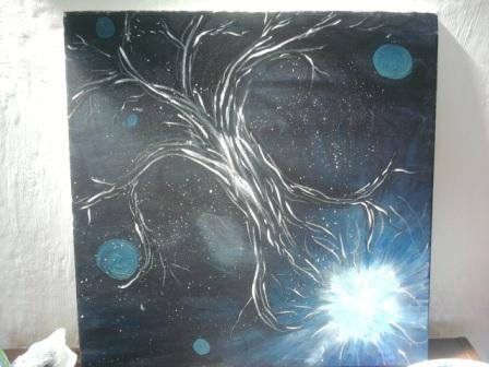 World Tree painting - photo