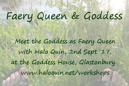 Faery Queen Workshop Postcard Details